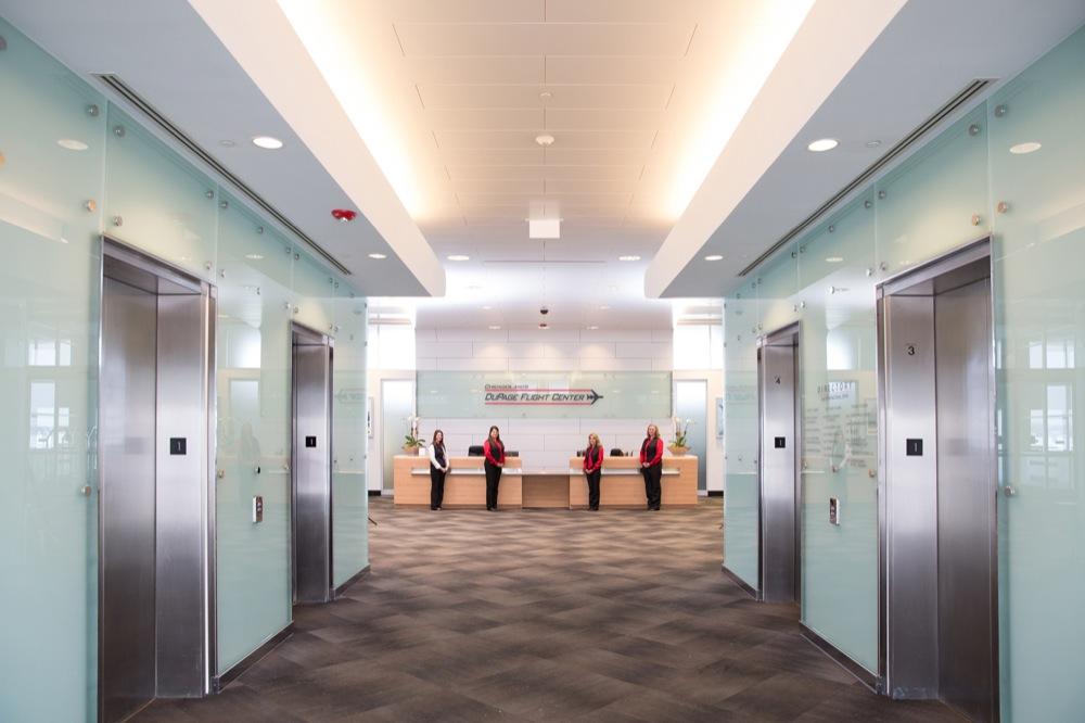 DuPage Flight Center Lobby